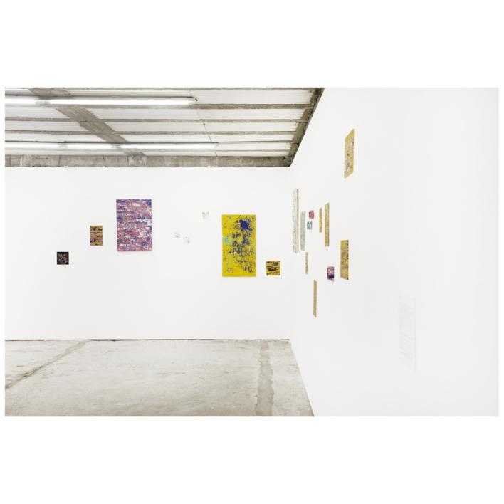 Pink Interferences | Pintura de Ana Dévora | Compra arte en Flecha.es