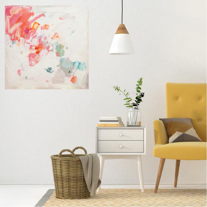 Abstracción 5 | Pintura de Susana Sancho | Compra arte en Flecha.es