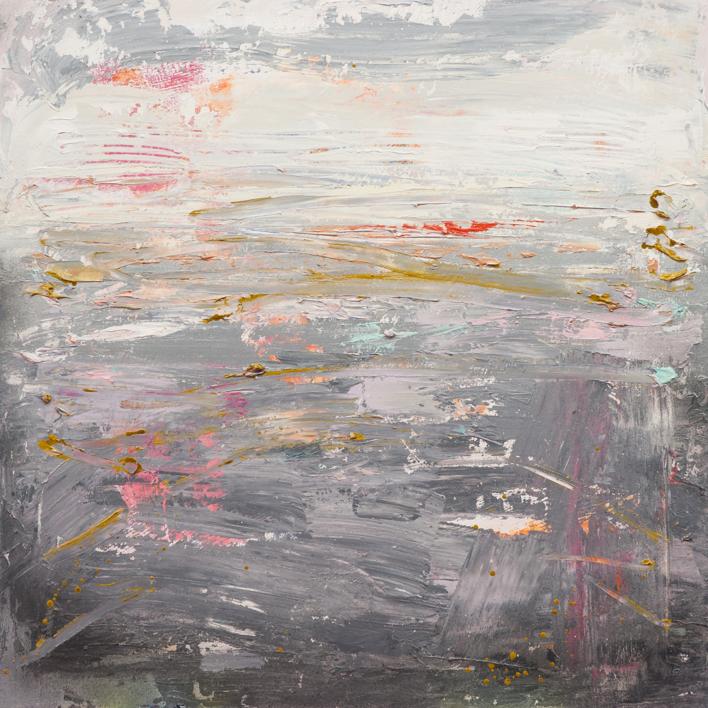 Paisaje abstracto |Pintura de Susana Sancho | Compra arte en Flecha.es