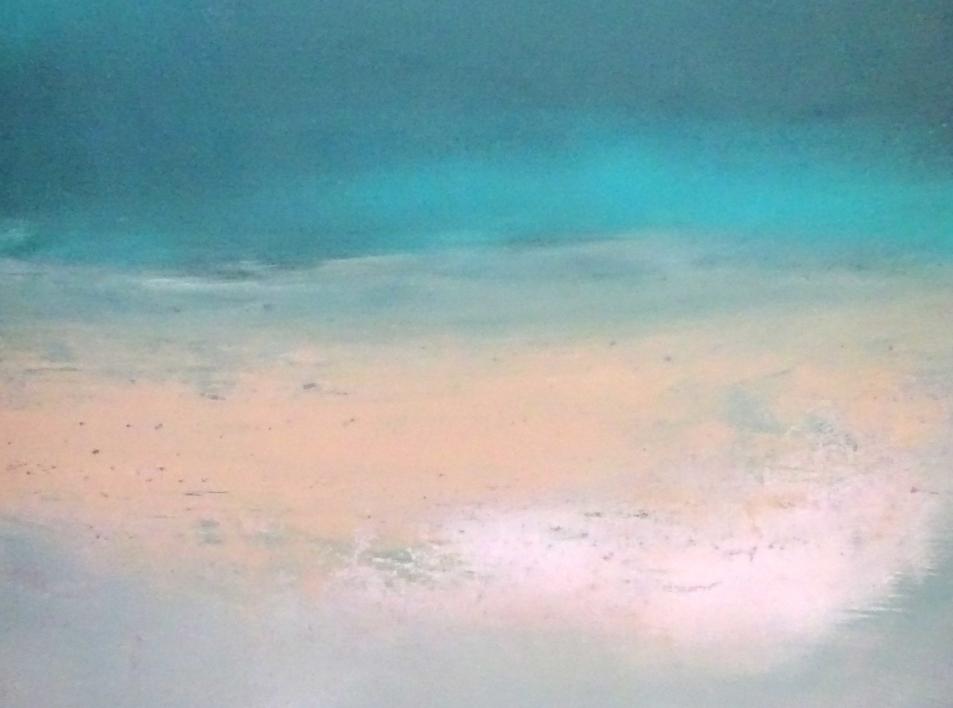 Azul en una noche tranquila | Pintura de Esther Porta | Compra arte en Flecha.es