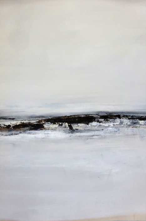 Llegando al horizonte |Pintura de Esther Porta | Compra arte en Flecha.es