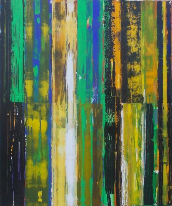 Double resistence 2 |Pintura de Francisco Santos | Compra arte en Flecha.es