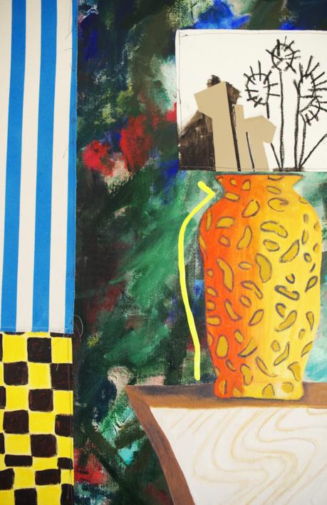 506 Variant Also Negotiates | Pintura de Nadia Jaber | Compra arte en Flecha.es