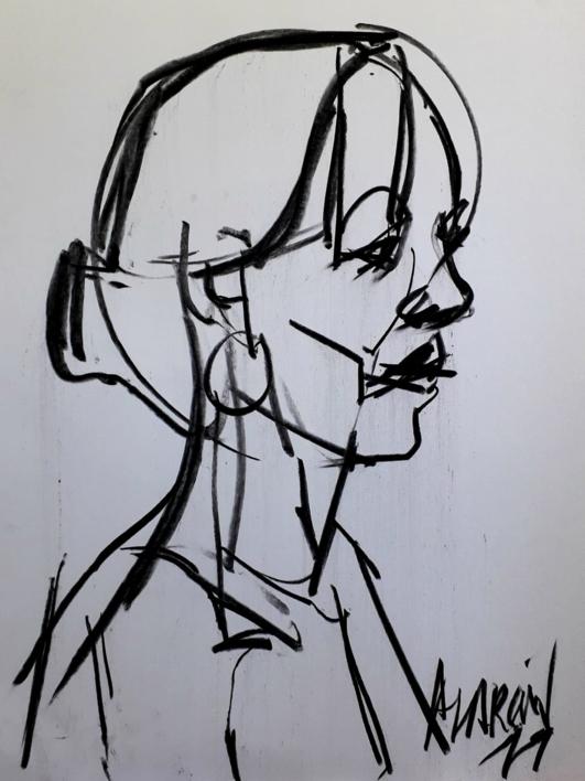 Sophie II |Dibujo de FRANCISCO ALARCÓN | Compra arte en Flecha.es