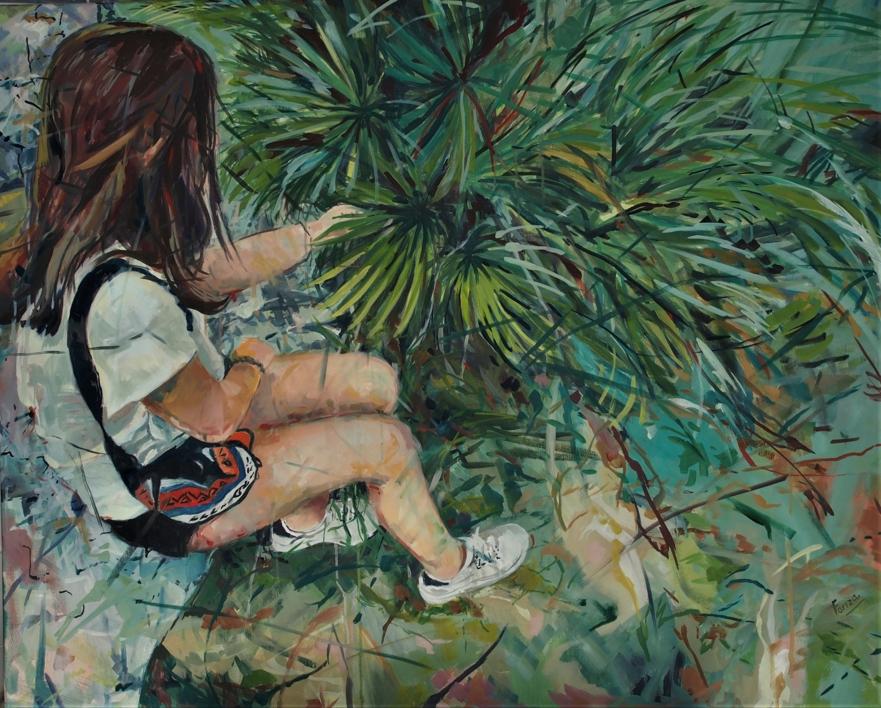 Buscando |Pintura de Amaya Fernández Fariza | Compra arte en Flecha.es