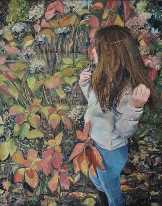 En el Jardín |Pintura de Amaya Fernández Fariza | Compra arte en Flecha.es