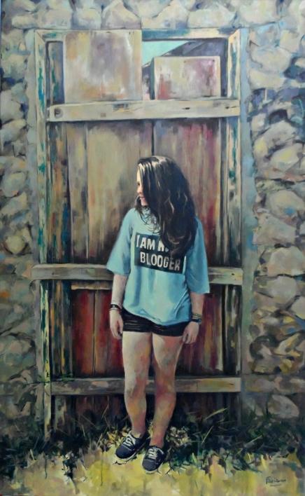 Sin Móvil |Pintura de Amaya Fernández Fariza | Compra arte en Flecha.es