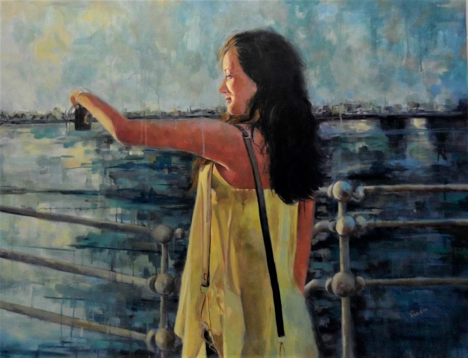 La Foto |Pintura de Amaya Fernández Fariza | Compra arte en Flecha.es