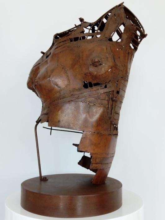 Torso AMZ-440 |Escultura de Pablo Rebollo Pérez | Compra arte en Flecha.es