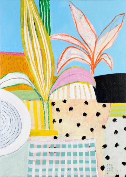 Paisaje Litoral |Pintura de Ana Cano Brookbank | Compra arte en Flecha.es