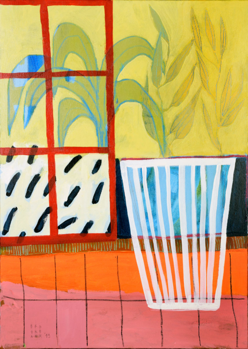 Kítrino Foínika |Pintura de Ana Cano Brookbank | Compra arte en Flecha.es