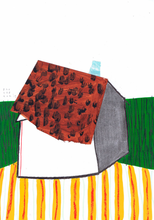 Polski Dom |Collage de Ana Cano Brookbank | Compra arte en Flecha.es