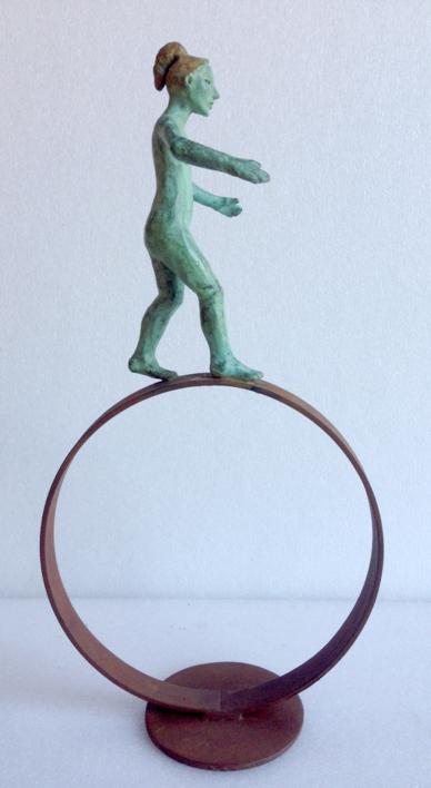 Balance |Escultura de Charlotte Adde | Compra arte en Flecha.es