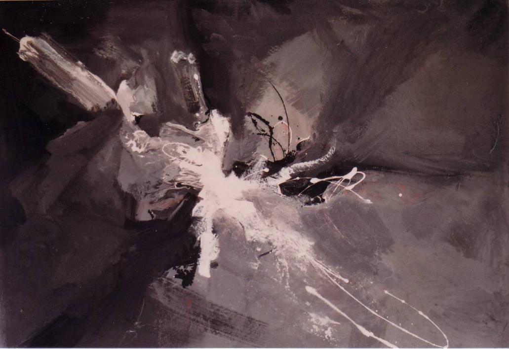 Black & white (One) |Pintura de Enrique Pazos | Compra arte en Flecha.es