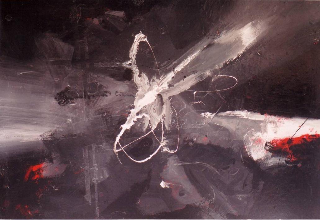 Black & white (two) |Pintura de Enrique Pazos | Compra arte en Flecha.es