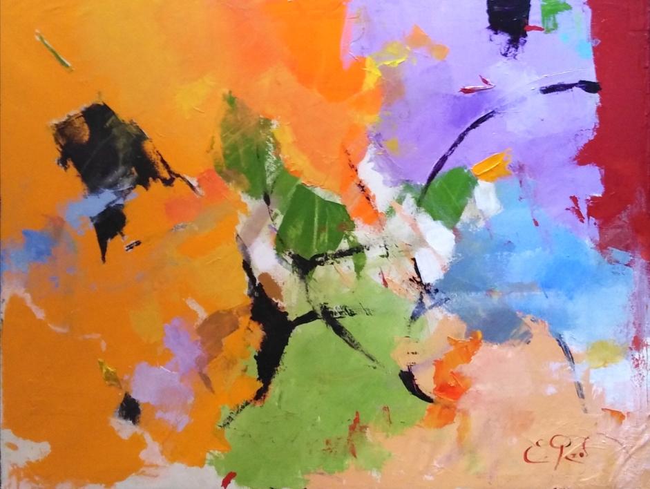 Colorín colorado |Pintura de Enrique Pazos | Compra arte en Flecha.es