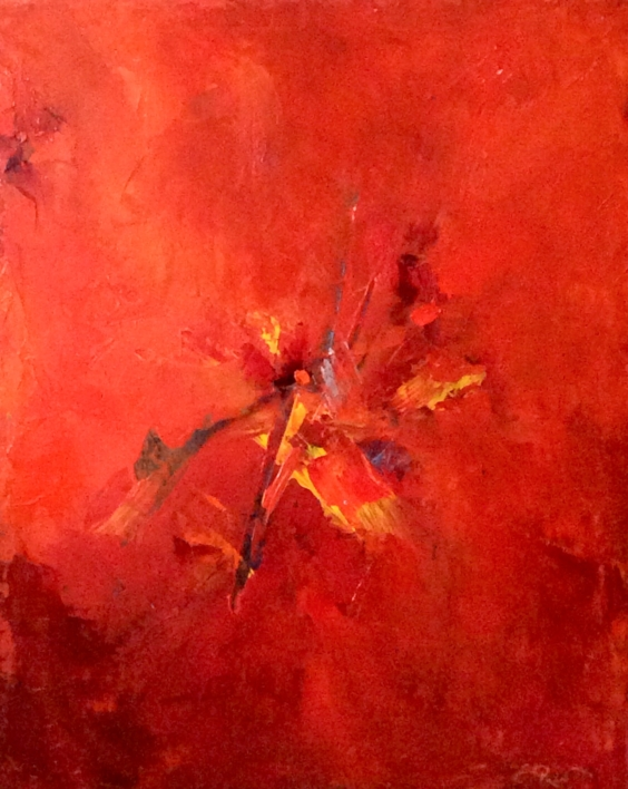 Summer fire |Pintura de Enrique Pazos | Compra arte en Flecha.es