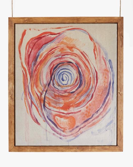 Vortex de Transformación. Dejando que todo fluya a través de mi. Y de ti. |Pintura de Carmen Ceniga Prado | Compra arte en Flecha.es