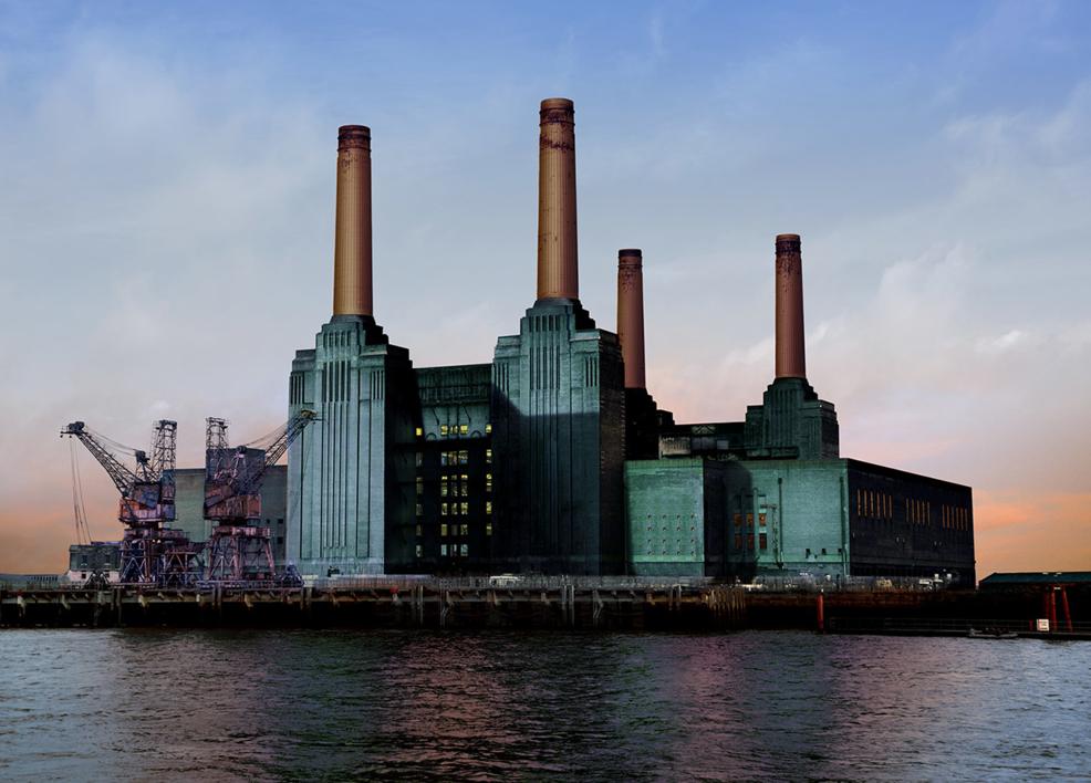 Battersea Power Station II |Fotografía de Leticia Felgueroso | Compra arte en Flecha.es