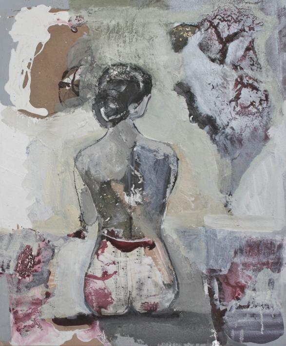 Ella |Collage de Calonje | Compra arte en Flecha.es