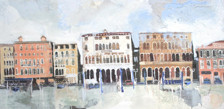 El Gran Canal |Collage de Calonje | Compra arte en Flecha.es
