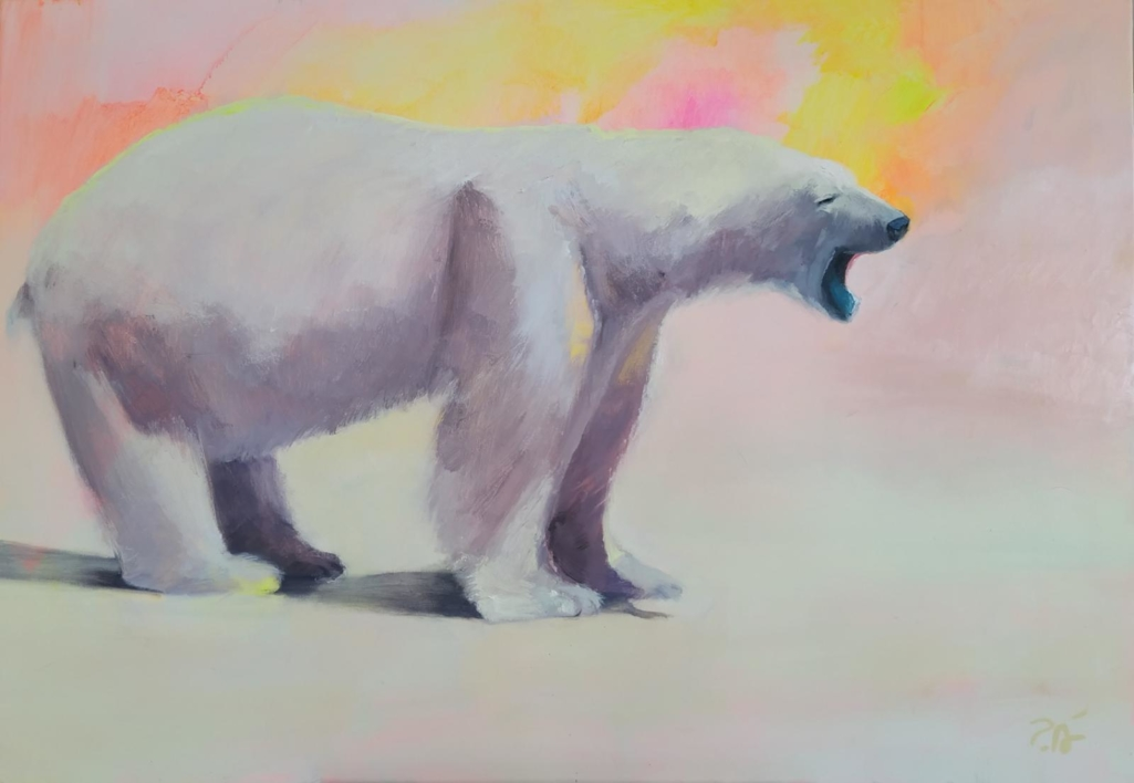 5ª sinfonía en Do menor |Pintura de Pilar Álvarez | Compra arte en Flecha.es