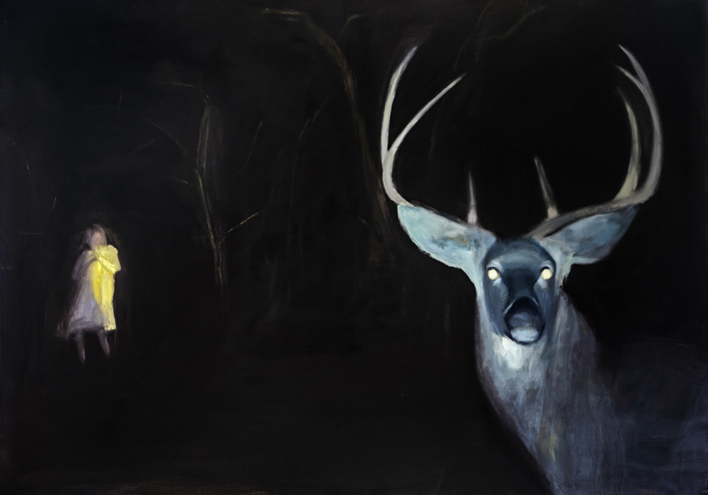 La noche velada |Pintura de Pilar Álvarez | Compra arte en Flecha.es
