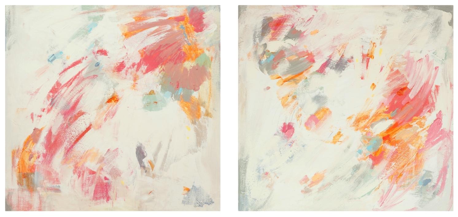 Díptico 3  Pintura de Susana Sancho   Compra arte en Flecha.es