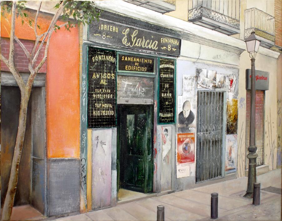 Fontanería E.Garcia-Madrid  Pintura de TOMAS CASTAÑO   Compra arte en Flecha.es