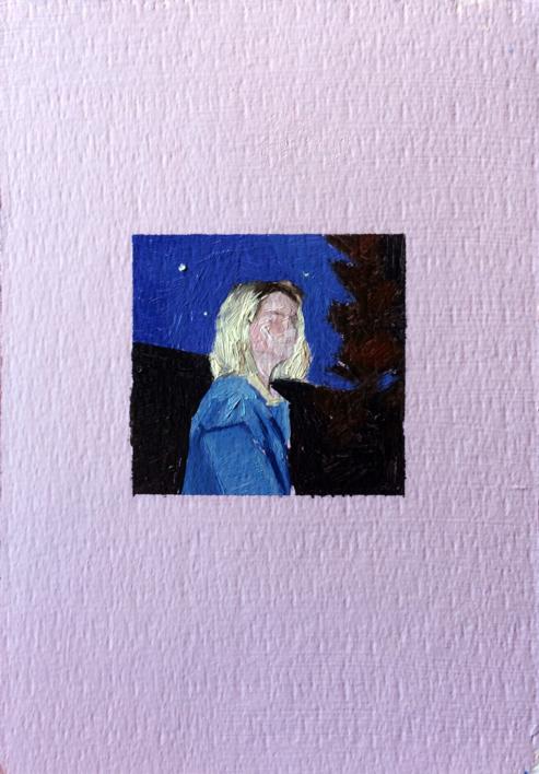 Retrato Nocturno I |Pintura de Pablo Colomo | Compra arte en Flecha.es