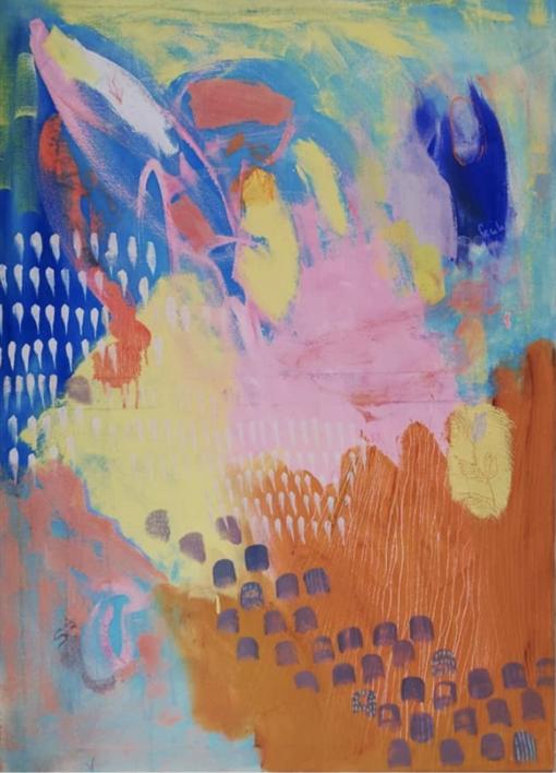 Sin título |Pintura de Cecilia Sebastian | Compra arte en Flecha.es