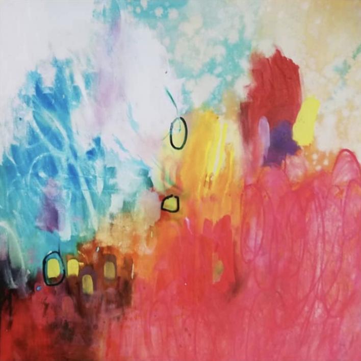 Primarios |Pintura de Cecilia Sebastian | Compra arte en Flecha.es