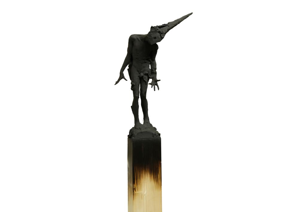 Can´t runaway from yourself |Escultura de Álvaro de Matías | Compra arte en Flecha.es