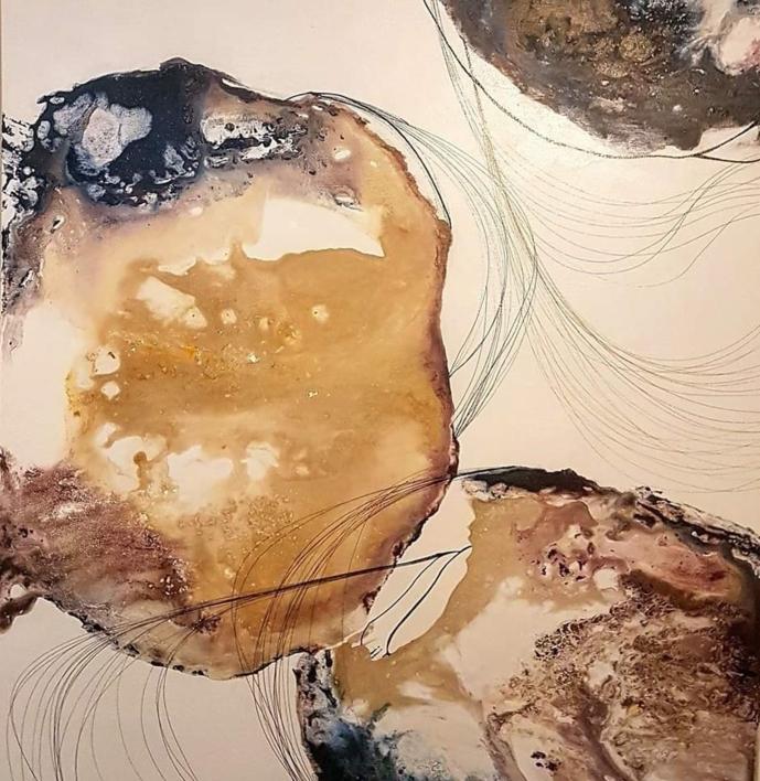 AGATA |Pintura de Maribel Martin Martin | Compra arte en Flecha.es