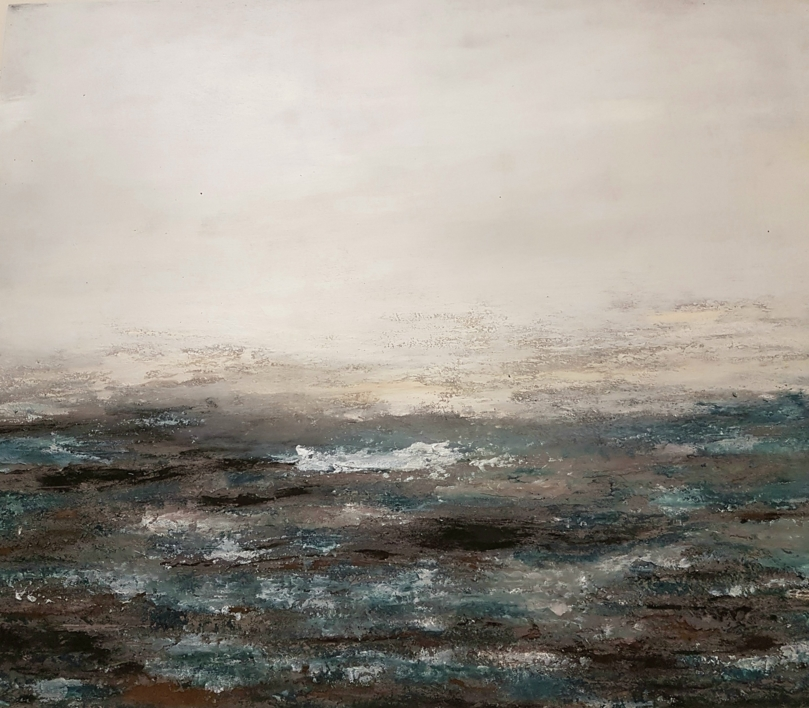 MAREA |Pintura de Maribel Martin Martin | Compra arte en Flecha.es