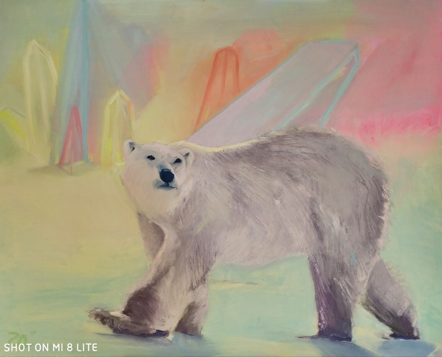 Fusión  Pintura de Pilar Álvarez   Compra arte en Flecha.es