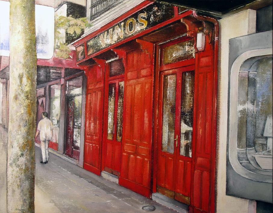 Vinos Sagasta  Pintura de TOMAS CASTAÑO   Compra arte en Flecha.es