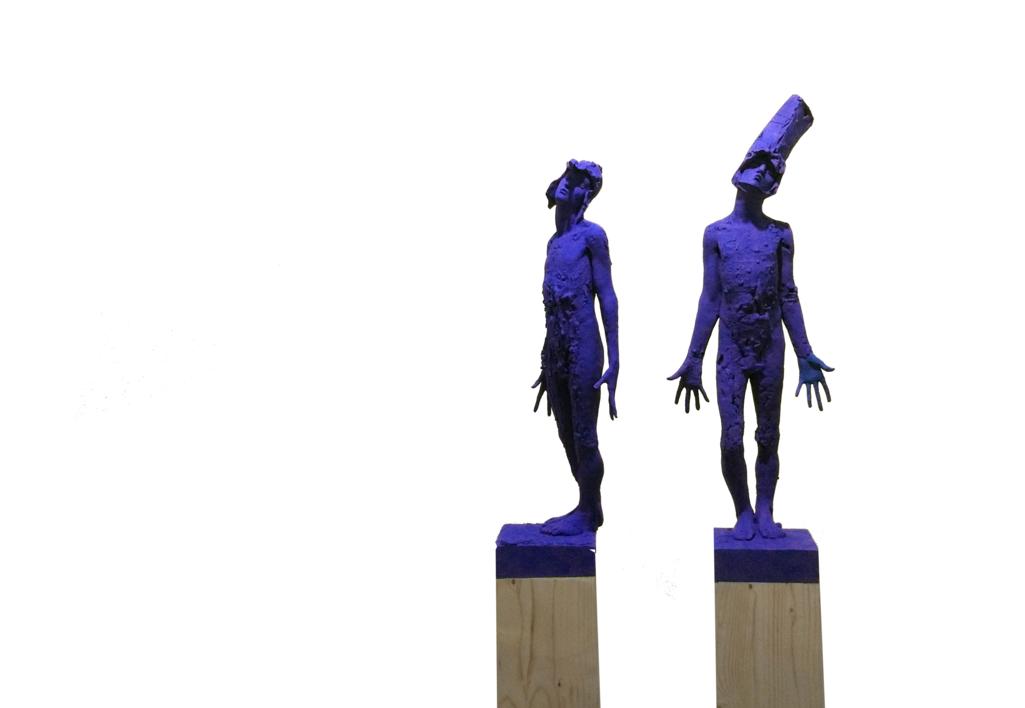 Feeling Blue |Escultura de Álvaro de Matías | Compra arte en Flecha.es