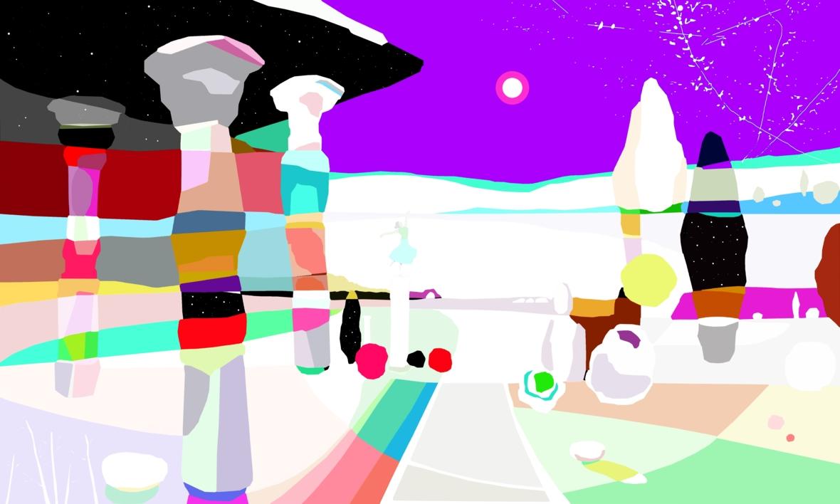 Mi Santuario |Dibujo de ALEJOS | Compra arte en Flecha.es