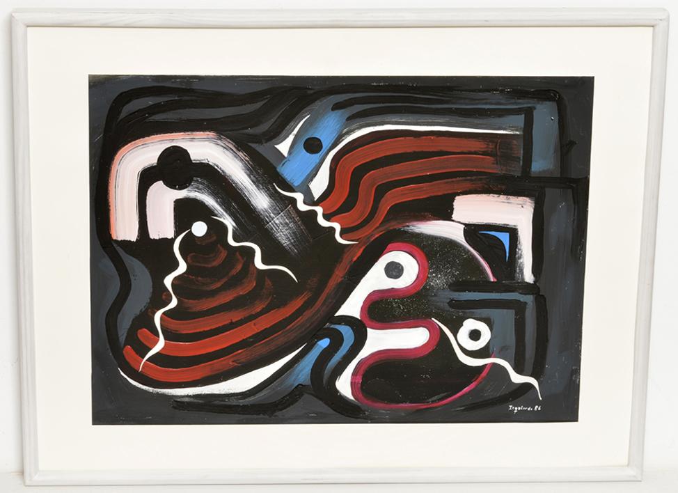 Abstracción 97 |Pintura de Manuel Izquierdo | Compra arte en Flecha.es