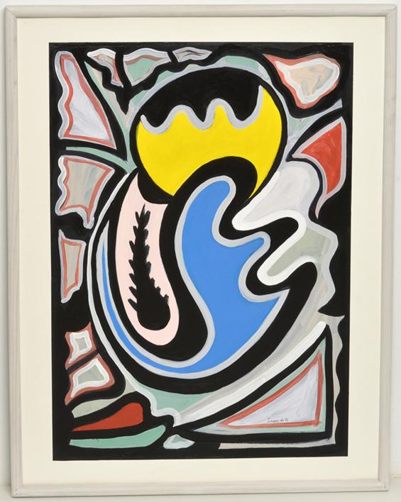 Abstracción 96 |Pintura de Manuel Izquierdo | Compra arte en Flecha.es