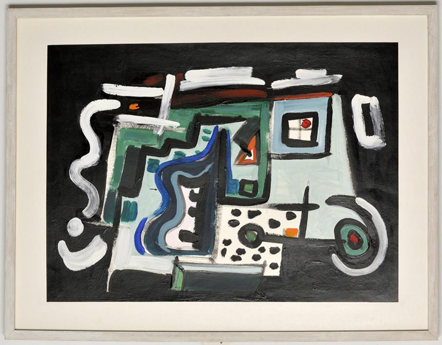 Abstracción 202  Pintura de Manuel Izquierdo   Compra arte en Flecha.es
