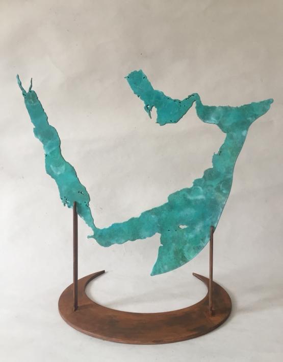 MAR ROJO Y GOLFO PÉRSICO |Escultura de Jaelius Aguirre | Compra arte en Flecha.es