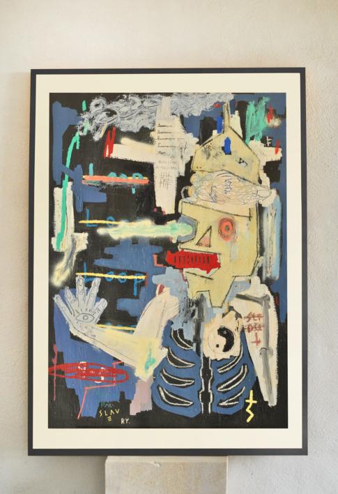Pretending life |Pintura de Toni Salom | Compra arte en Flecha.es