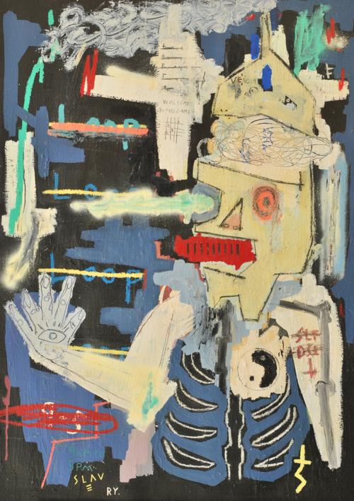 Pretending life | Pintura de Toni Salom | Compra arte en Flecha.es
