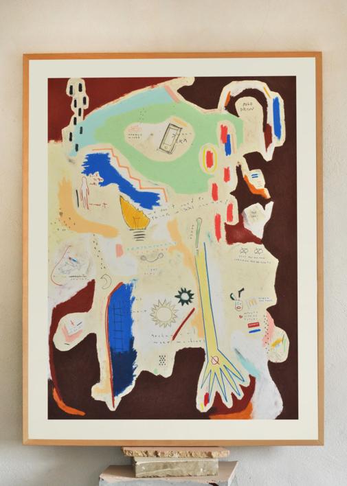 Handle Minds |Collage de Toni Salom | Compra arte en Flecha.es