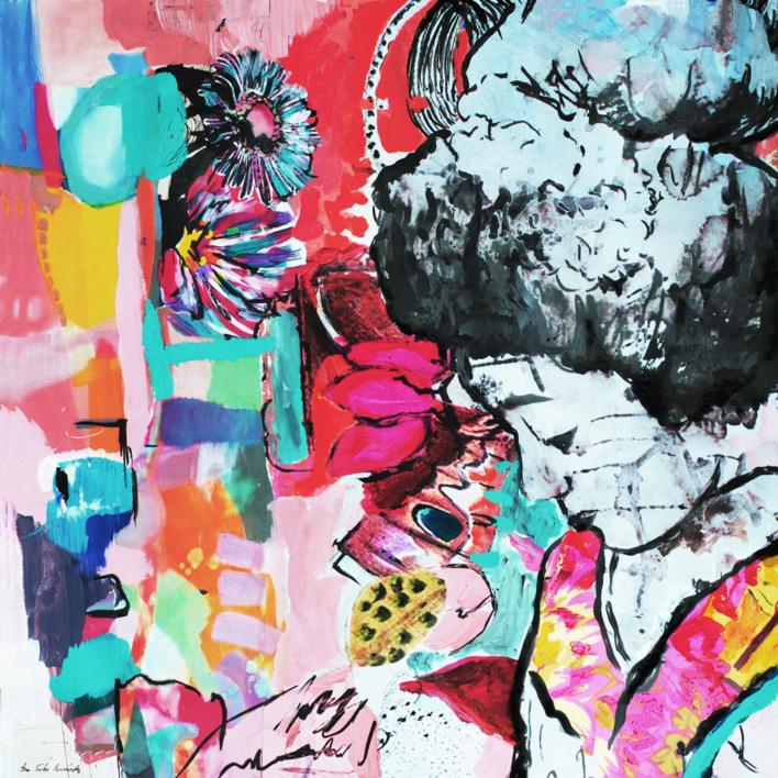Kokoro |Collage de Ana Soler Fernandez | Compra arte en Flecha.es