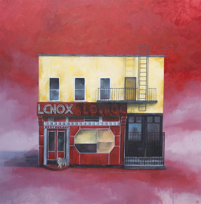 Lenox Lounge |Pintura de Rosa Alamo | Compra arte en Flecha.es