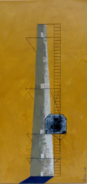 Faro  Pintura de Ana Pellón   Compra arte en Flecha.es