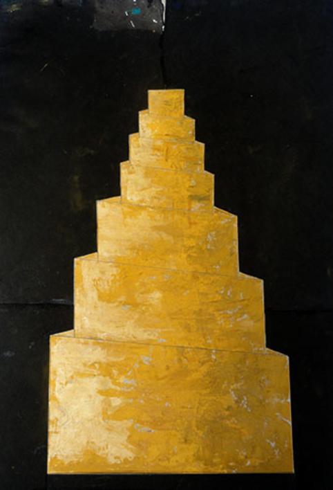 Babel I  Pintura de Ana Pellón   Compra arte en Flecha.es